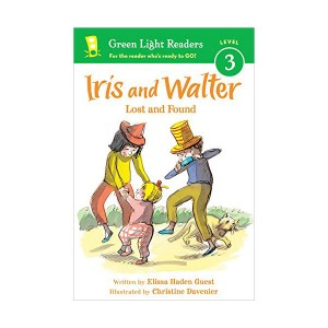 Green Light Readers Level 3 : Iris and Walter : Lost and Found (Paperback)