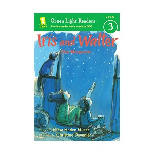 Green Light Readers Level 3 : Iris and Walter : The Sleepover (Paperback)