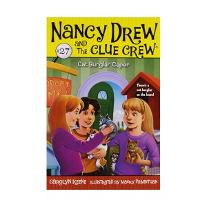 Nancy Drew and the Clue Crew #27 : Cat Burglar Caper (Paperback)