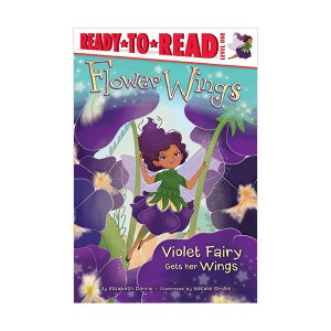 Ready to read 1 : Flower Wings : Violet Fairy Gets Her Wings (Paperback)