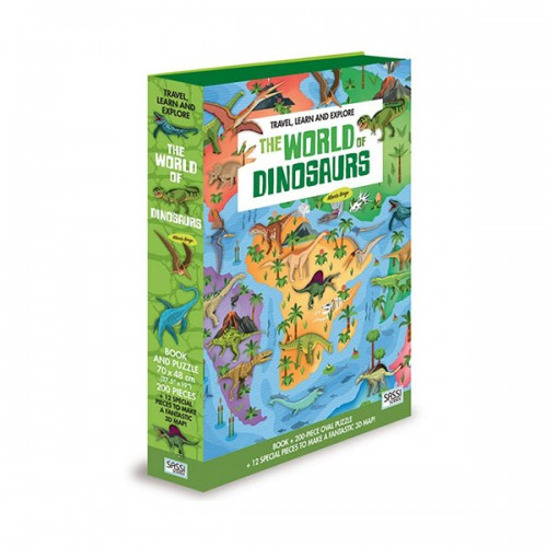 The World of Dinosaurs Book and Puzzle (Puzzle)