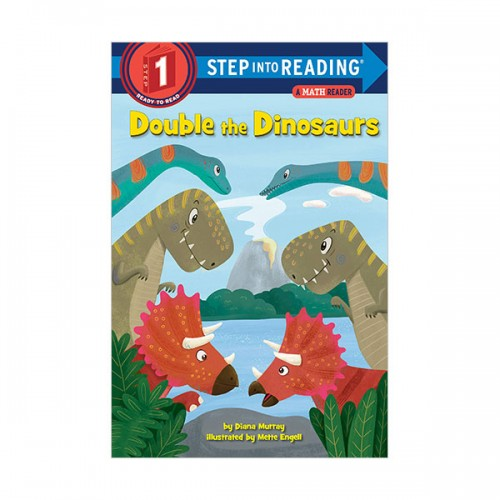Step Into Reading 1 : A Math Reader : Double the Dinosaurs (Paperback)