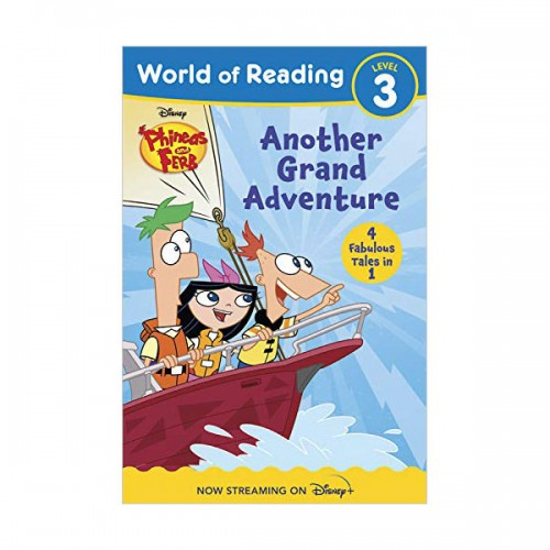 World of Reading Level 3 : Phineas and Ferb Another Grand Adventure (Paperback, 4종합본)