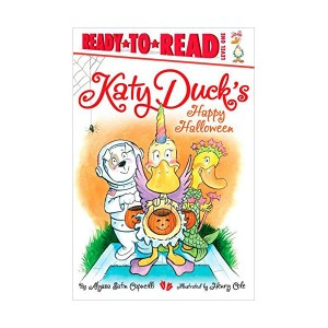 Ready to Read 1 : Katy Duck's Happy Halloween (Paperback)
