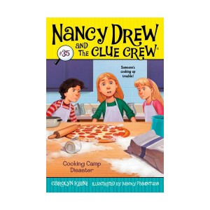 Nancy Drew and the Clue Crew #35 : Cooking Camp Disaster (Paperback)