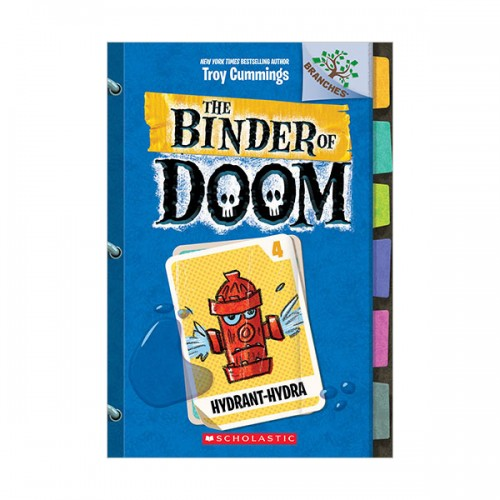 [스콜라스틱] The Binder of Doom #04 : Hydrant-Hydra (Paperback)