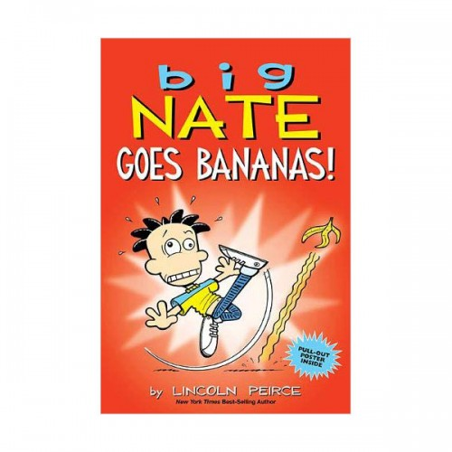 Big Nate #19 : Big Nate Goes Bananas! : Color Edition (Paperback)