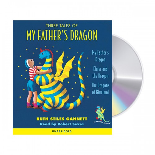 Three Tales of My Father's Dragon (Audio CD) (도서미포함)