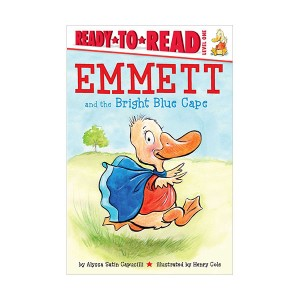 Ready to Read 1 : Emmett and the Bright Blue Cape (Paperback)