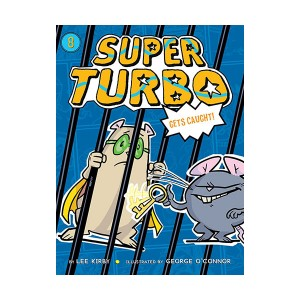 Super Turbo #08 : Gets Caught (Paperback)