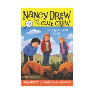 Nancy Drew and the Clue Crew #33 : The Pumpkin Patch Puzzle (Paperback)