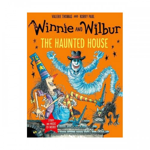 Winnie and Wilbur : The Haunted House (Paperback & CD, 영국판)
