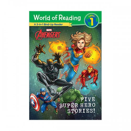 World of Reading Level 1 : Five Super Hero Stories! (Paperback)