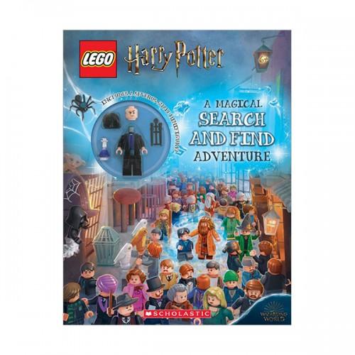 [스콜라스틱] LEGO Harry Potter : A Magical Search and Find Adventure (Paperback+Figure)