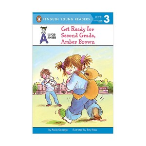 Penguin Young Readers 3 : A is for Amber #04 : Get Ready for Second Grade, Amber Brown (Paperback)
