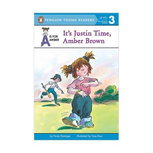 Penguin Young Readers 3 : A is for Amber #02 : It's Justin Time, Amber Brown (Paperback)