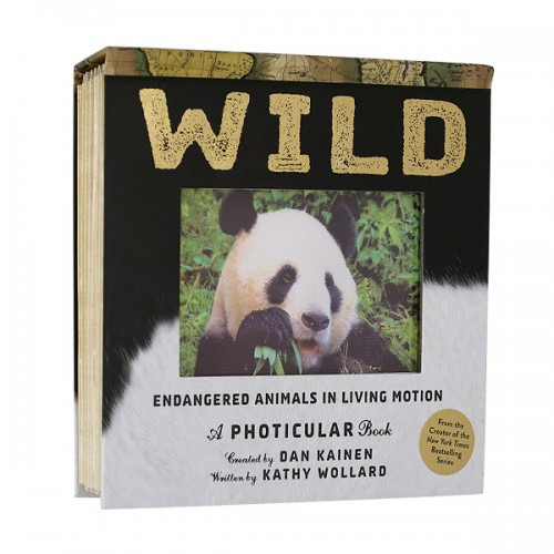 Wild : A Photicular Book (Hardcover)