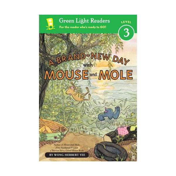 Green Light Readers Level 3 : Mouse and Mole : Brand-New Day With Mouse and Mole (Paperback)