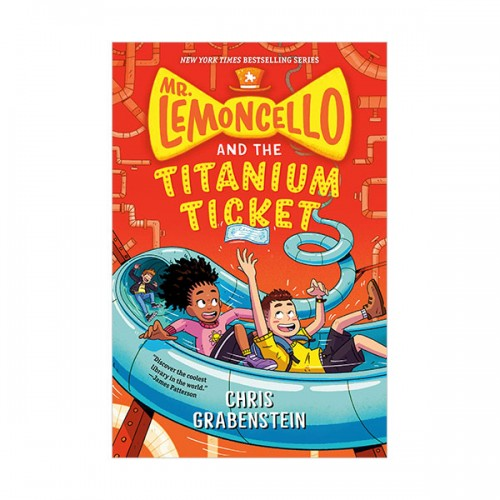 Mr. Lemoncello and the Titanium Ticket (Paperback)