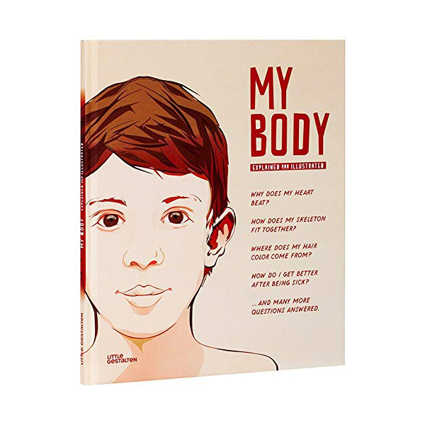My Body : The Human Body in Illustrations (Hardcover)