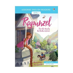 Usborne English Readers Level 1 : Rapunzel (Paperback, 영국판)