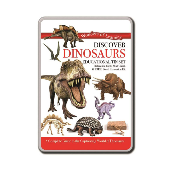 Wonders of Learning : Discover Dinosaurs (Educational Tin Set, 영국판)