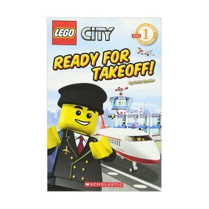 Scholastic Reader 1 : Lego City : Ready for Takeoff! (Paperback)