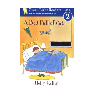 Green Light Readers 2 : A Bed Full of Cats (Paperback)