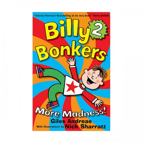 Billy Bonkers #02 : More Madness! (Paperback, 영국판)