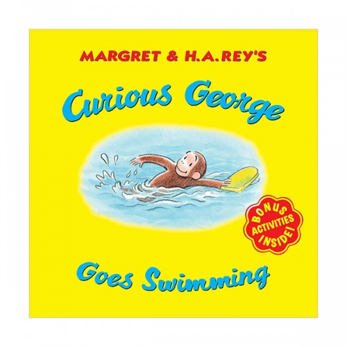 Curious George Goes Swimming (Paperback)
