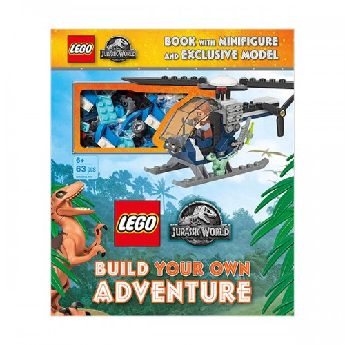 LEGO Jurassic World Build Your Own Adventure (Hardcover)