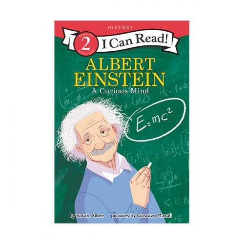I Can Read 2 : Albert Einstein : A Curious Mind (Paperback)