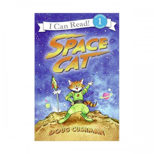 I Can Read 1 : Space Cat (Paperback)