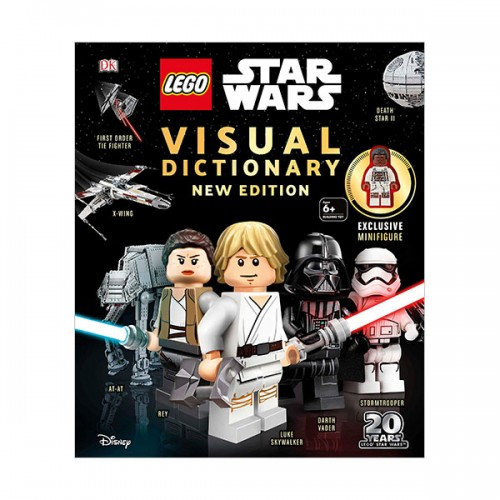 LEGO Star Wars Visual Dictionary New Edition (Hardcover)