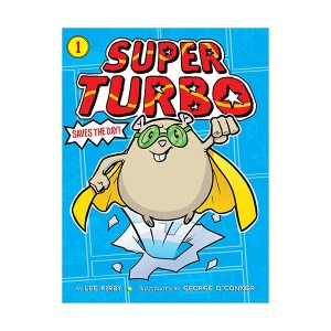 Super Turbo #01 : Saves the Day! (Paperback)