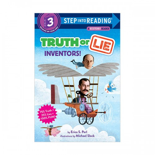 Step Into Reading 3 : Truth Or Lie : Inventors! (Paperback)
