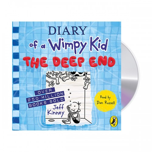 Diary of a Wimpy Kid #15 : The Deep End (Audio CD, 영국판)(도서미포함)
