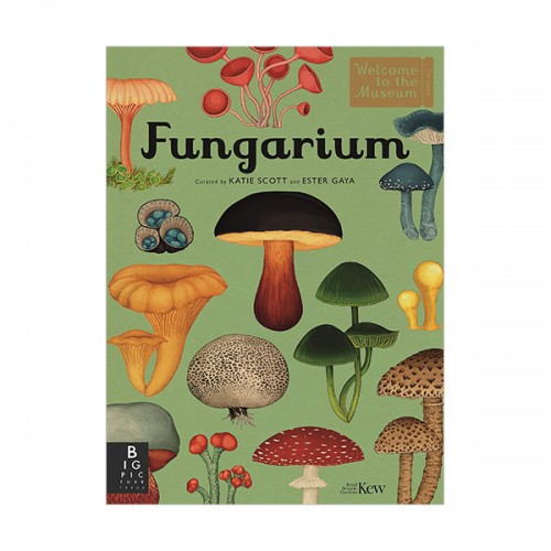 Welcome To The Museum : Fungarium (Hardcover, 영국판)