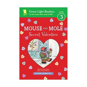 Green Light Readers 3 : Mouse and Mole : Secret Valentine (Paperback)