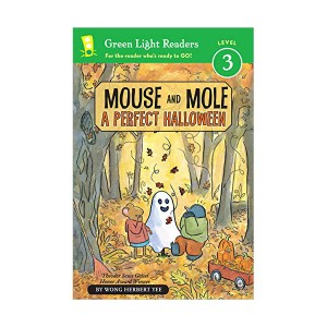 Green Light Readers 3 : Mouse and Mole : A Perfect Halloween (Paperback)