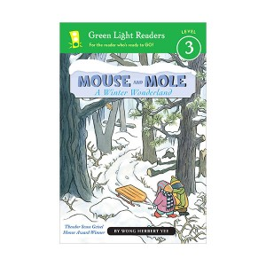Green Light Readers 3 : Mouse and Mole : A Winter Wonderland (Paperback)