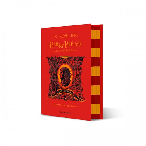 [기숙사판/영국판] 해리포터 #06 : Harry Potter and the Half-Blood Prince - Gryffindor Edition (Hardcover)