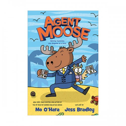 Agent Moose #01 : Agent Moose (Hardcover, Graphic Novel)