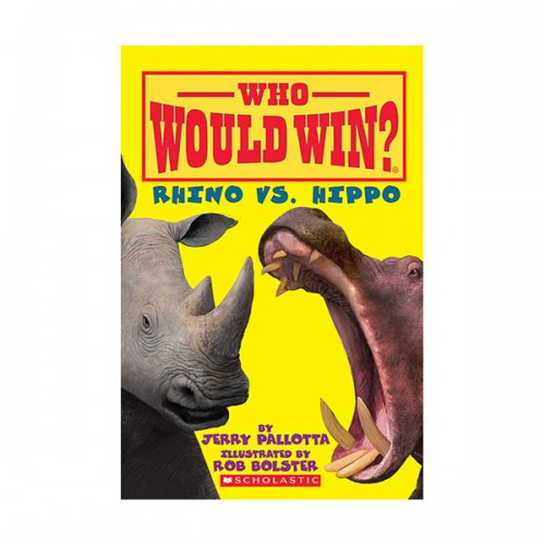 Who Would Win? : Rhino vs. Hippo (Paperback)