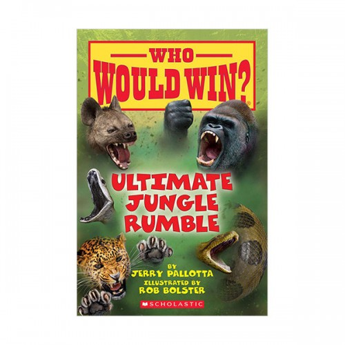 Who Would Win? : Ultimate Jungle Rumble (Paperback)