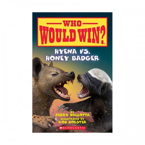 Who Would Win? : Hyena vs. Honey Badger (Paperback)