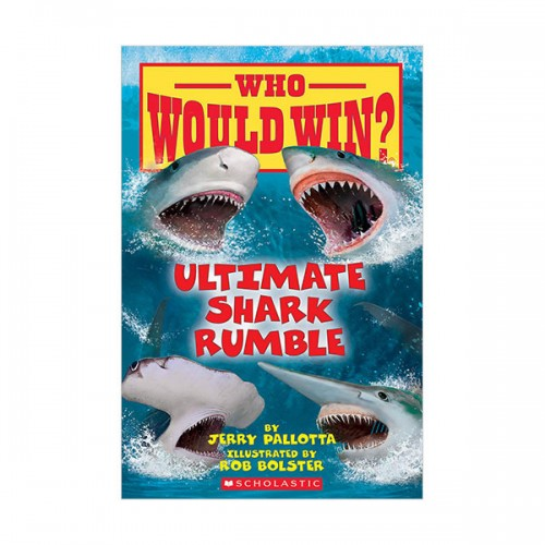 Who Would Win? : Ultimate Shark Rumble (Paperback)