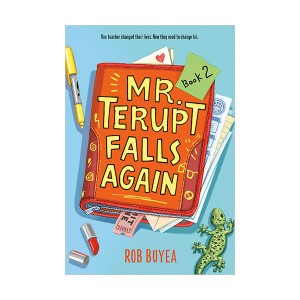 Mr. Terupt #02 : Mr. Terupt Falls Again (Paperback)