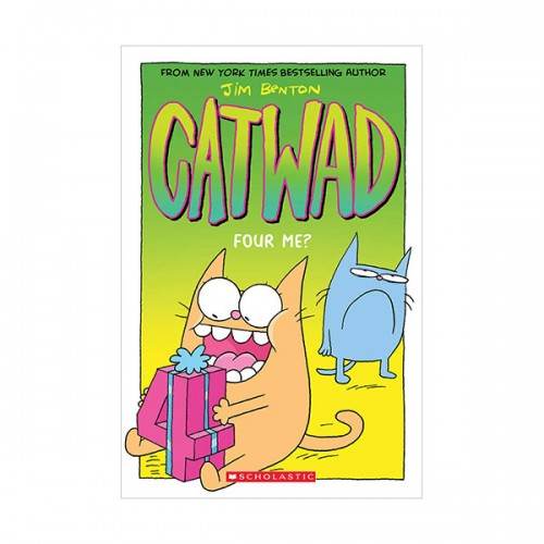 Catwad #04 : Four Me? (Paperback, Graphic Novel)