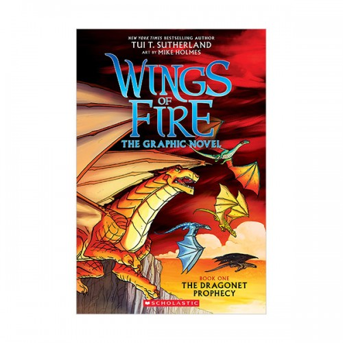 Wings of Fire Graphic Novel # 01 : The Dragonet Prophecy (Paperback)